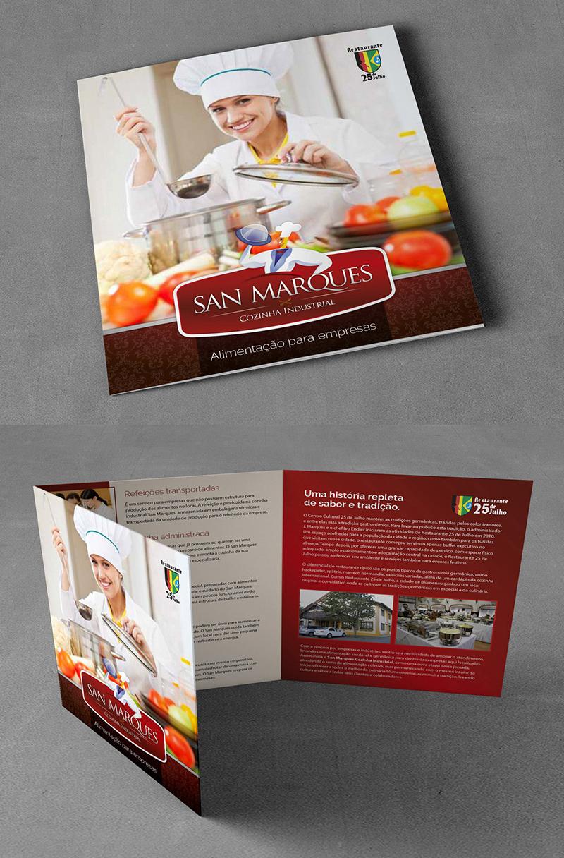 Folder Para San Marques Cozinha Industrial Psd Est Dio